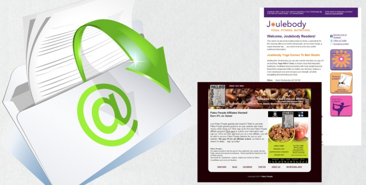 Email Blast Marketing For Food Companies My Food Brand Website